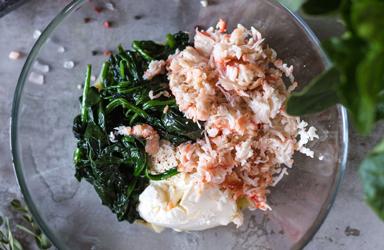 Cá hồi nướng rau (3)