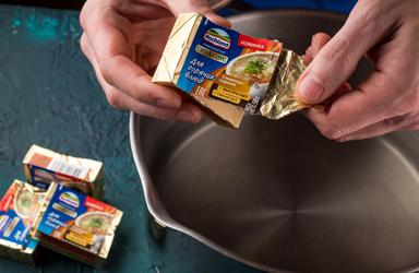 Суп сырный с шампиньонами (3)