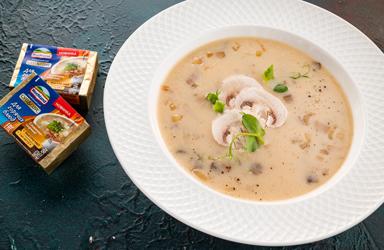 Суп сырный с шампиньонами (5)